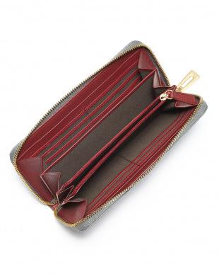 グレー マットクロコダイル長財布を見る