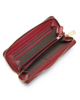 ボルドー マットクロコダイル長財布を見る