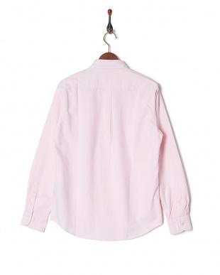 ピンク オックスBDシャツ LS見る