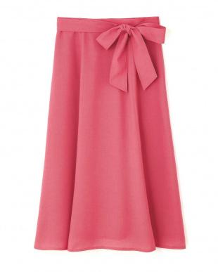 ピンク ◆切替フレアースカート Aylesbury見る