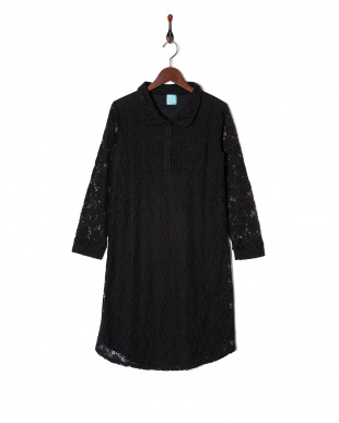 BLK LACY SHIRT DRESSを見る