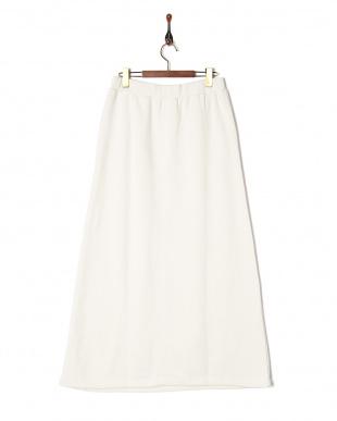 オフホワイト スカート見る