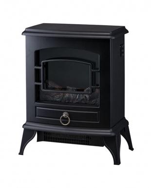 ブラック  ノスタルジア 暖炉型ヒーター見る