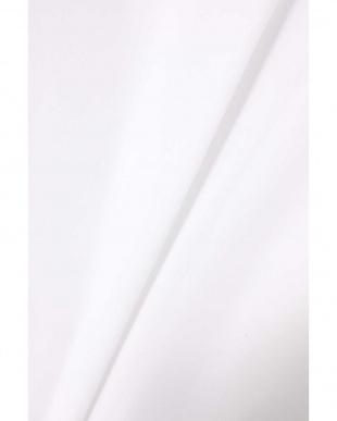 ホワイト1 ショート丈フレアシャツ R/B(オリジナル)見る