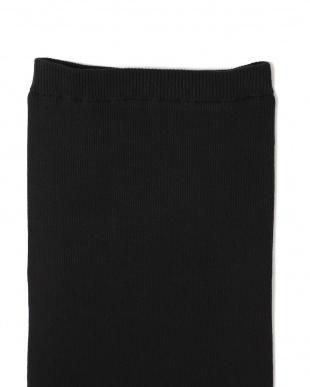ブラック1 [MORE12月号掲載]リブニットタイトスカート R/B(オリジナル)見る
