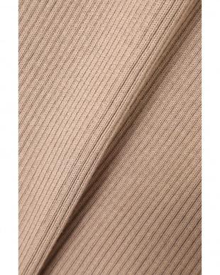 ベージュ1 [MORE12月号掲載]リブニットタイトスカート R/B(オリジナル)見る
