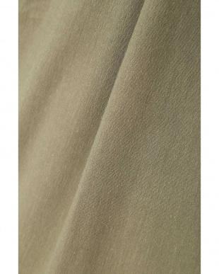 カーキ ◆大きいサイズ◆麻混ウェザーストレッチスカート 22 OCTOBRE L見る