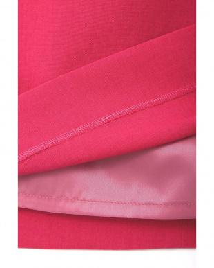 ピンク ◆大きいサイズ◆麻調ラップスカート 22 OCTOBRE L見る