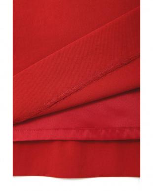レッド ◆大きいサイズ◆ソリビアフレアスカート 22 OCTOBRE L見る