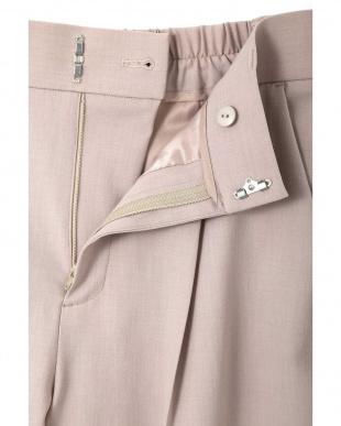 ピンク ◆大きいサイズ◆モックツイストパンツ 22 OCTOBRE L見る
