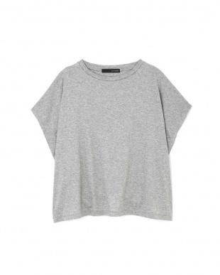 グレー1 ◆大きいサイズ・洗える◆[Weeked Lie]マットフライスTシャツ 22 OCTOBRE L見る