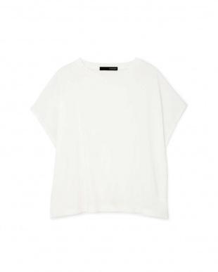 ホワイト ◆大きいサイズ・洗える◆[Weeked Lie]マットフライスTシャツ 22 OCTOBRE L見る