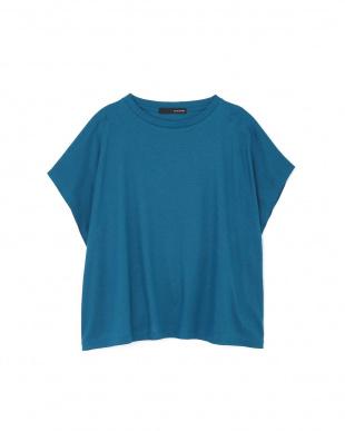 グリーン ◆大きいサイズ・洗える◆[Weeked Lie]マットフライスTシャツ 22 OCTOBRE L見る
