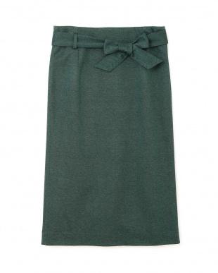 グリーン ◆大きいサイズ◆[SETUP]ジャージースカート 22 OCTOBRE L見る