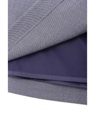ネイビー ◆大きいサイズ・洗える◆T/Wデニムライクタイトスカート 22 OCTOBRE L見る