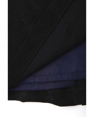 ネイビー ◆大きいサイズ◆スエードタイトスカート 22 OCTOBRE L見る