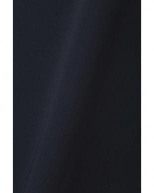 ネイビー ◆大きいサイズ・洗える◆フレアスリーブブラウス 22 OCTOBRE L見る