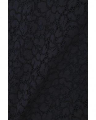 ネイビー ◆大きいサイズ・洗える◆エレーヌレースブラウス 22 OCTOBRE L見る
