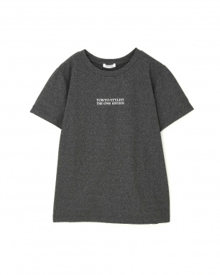 チャコールグレー5 ◆フィットネス◆[洗える]ストレッチドライロゴTシャツ TOKYO STYLIST THE ONE EDITION見る