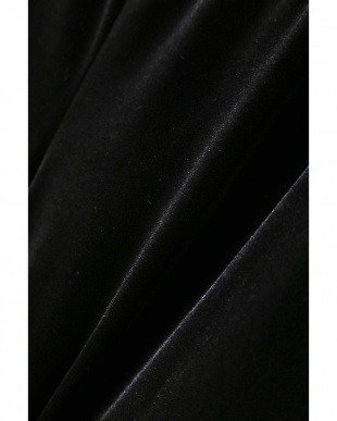 ブラック ドロストベロアパンツ TOKYOSTYLIST THEONE EDITIONorg見る