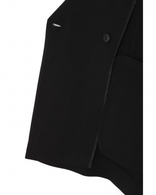 ブラック 2WAYノーカラージャケット TOKYOSTYLIST THEONE EDITIONorg見る