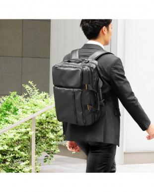 ブラック 3WAYビジネスバッグを見る
