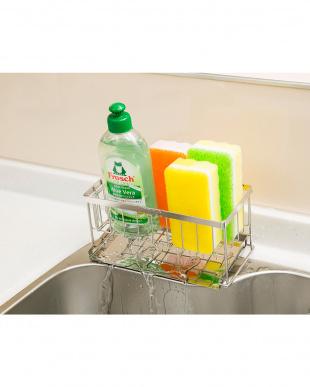 なし 洗剤スポンジラック スリム|Seiei見る