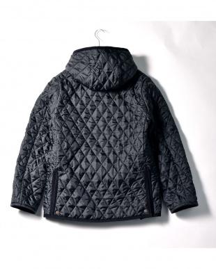 ブラック キルティングジャケット|MENを見る