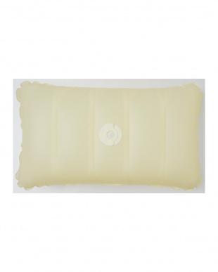 アイボリー  Air nap スマートクッション 30×50cm用見る
