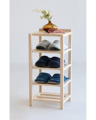 ブラウン  wood shelf見る