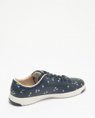 GRANDPRO TENNIS :NAVY DOTTED FLORAL見る