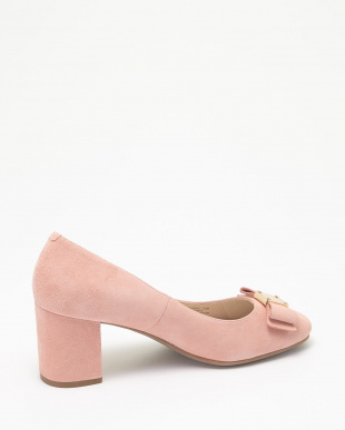 TALI BOW PUMP :CORAL ALMOND SUEDE見る