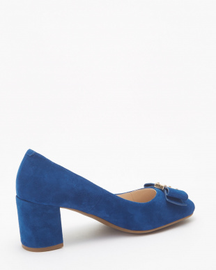 TALI BOW PUMP :NAVY PEONY SUEDE見る