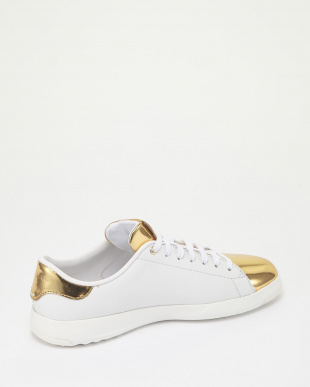 GRANDPRO TENNIS :WHITE/GOLD/WHITE見る
