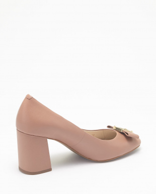 EMORY BOW PUMP:MOCHA MOUSSE LT見る
