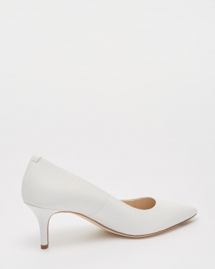 VESTA PUMP 65MM :WHITE LEATHER見る