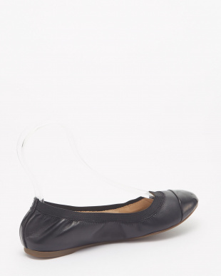 ELOISE GORE BALLET :BLACK LEATHER/PATENT見る