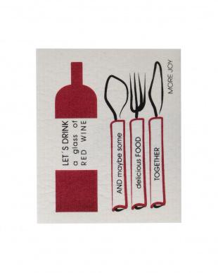 Red Wine MORE JOY フィンランド製スポンジワイプ 4枚セット見る