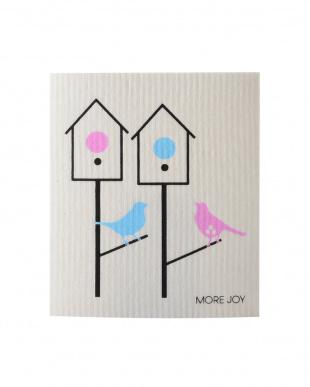 Love bird's MORE JOY フィンランド製スポンジワイプ 4枚セット見る