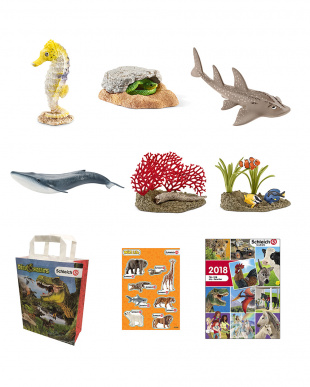 Schleich HAPPY BAG-4見る