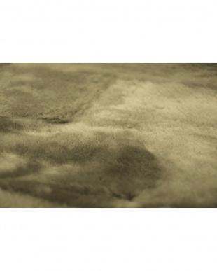ブラウン系  オーストラリア産原皮使用 ムートン敷きパッド シングル 95×200cm見る