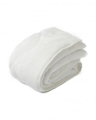 ホワイト シングル 約100×205cm 吸湿 発熱 あったか ふんわり 敷きパッドを見る