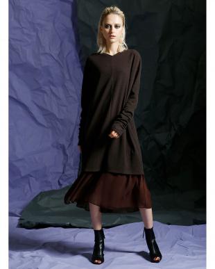 BROWN バレーミックスドレスを見る