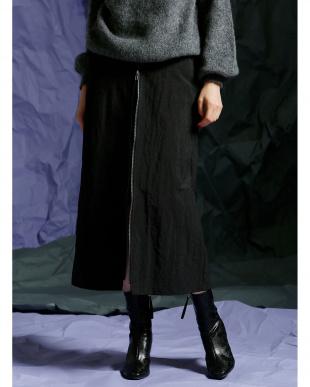 BLACK Wフェイススカートを見る