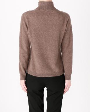 ブルー カシミヤセーターを見る