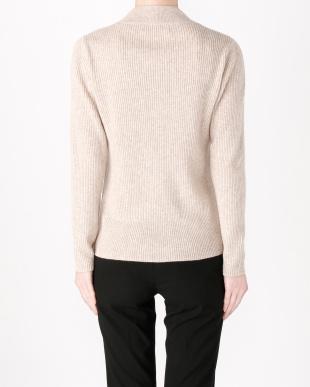 ネイビー カシミヤセーターを見る