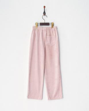 ピンク1 menuet ベロアデザインパンツ|GIRLを見る