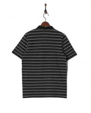COTTON BLACK エッセンシャル ストライプポロシャツを見る