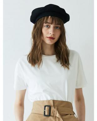 ホワイト シンプルミニマムTシャツ LAGUNAMOON見る