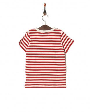 レッド 16/- ボーダーテンジク S/S Tシャツを見る